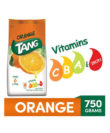Tang Orange Instant Drink Mix, 750 gm Pouch