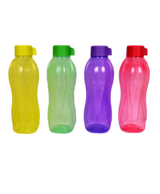 Tupperware Water Bottle SET OF 4