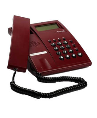Beetel M51 CLI Corded Phone (Red)