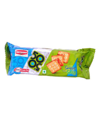 Britannia 50-50 - Biscuits, 40 gm Pouch