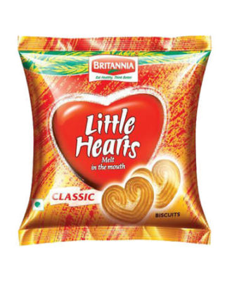 Britannia Biscuits - Little Hearts, 37 gm ( Pack of 6 )