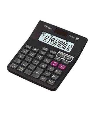 Casio Desk Type MJ-12Da Calculator (Pack Of 1)