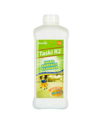 Taski R2 Floor Cleaner - Hygienic Hard Surface Cleaner Concentrate (1 Ltr)