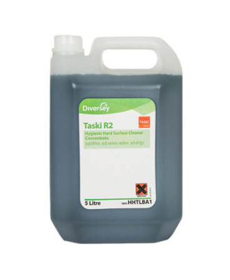 Taski R2 Floor Cleaner - Hygienic Hard Surface Cleaner Concentrate (5 Ltr CAN)