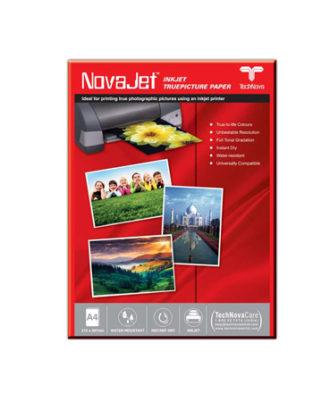 NOVAJET Photo Gloss Paper 182 GSM A4 (50 Sheets)