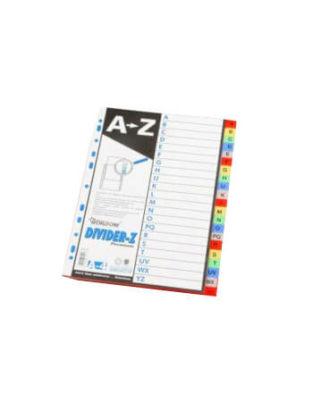 Huajie A to Z Plastic file separator (Set)