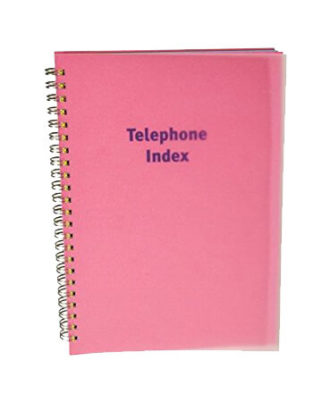 Telephone Index 192 page