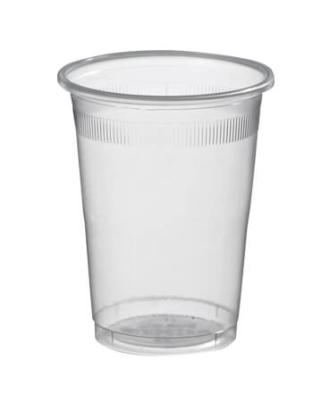 DISPOSABLE Transparent PLASTIC CUPS 200ml