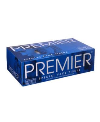Premier Facial Tissue Box