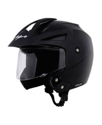 Crux-Open-Face-Black-Helmet