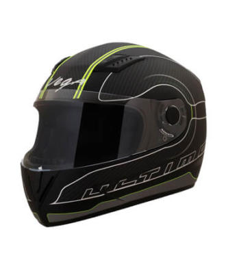 ULTIMO-CARBON-DULL-BLACK-NEON-YELLOW-HELMET