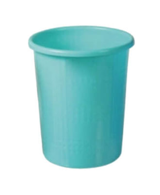 Plastic Plain Dustbin Medium Without Cap