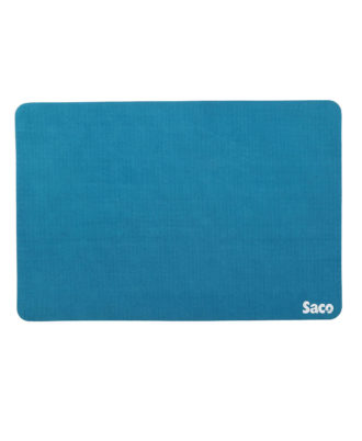 Saco Non-Skid Velvet Fabric gaming big size Mousepad - (LightBlue)
